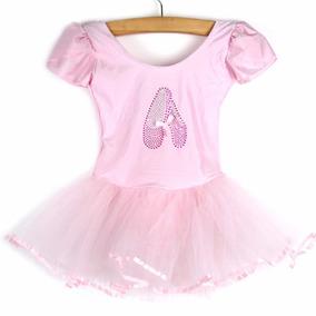 d0280c89f5 Vestido Fantasia Bailarina Luxo Infantil Rosa