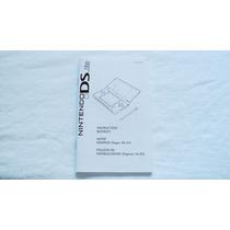 Manual De Instrucciones De Consola Ds Lite Nintendo
