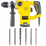 Rotomartillo 32mm 1250w Stanley Sth1232+brocas
