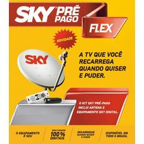 Sky Pré Pago Flex Kit Completo