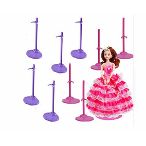 12 Suportes: Para Boneca Barbie Susi Monster High