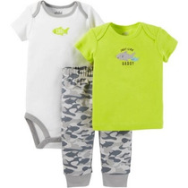 Camisa Pantalón Pañalero Carters Prematuro Envio Gratis