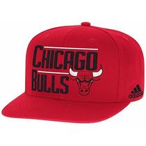 Gorras Chicago Bulls Adidas Original Snapback Plana Flat Nba