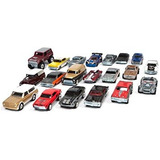 Coleccionable Hot Wheels Ford Vs Gm Garaje Set - 20 Coches