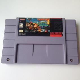 Fita Donkey Kong Country 3 Original - Super Nintendo