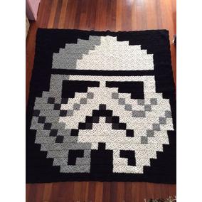 Cobija Tejida A Crochet Individual Star Wars