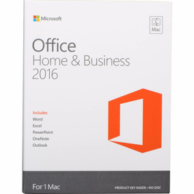 Licencia Office For Mac Home And Business 2016 Digital
