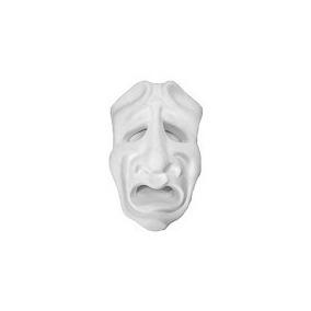 Máscara Trajédia 20x13 Ref 690 Em Gesso