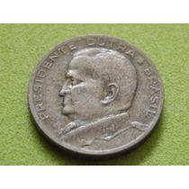 Moeda De 50 Centavos 1954 Presidente Dutra Brasil (ref 2105)