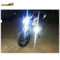 2 Faros Led 3000 Lm C/u Honda Bmw Pulsar Yamaha Bws Ktm