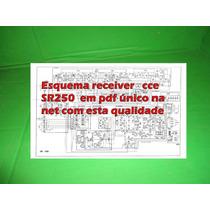 Esquema Receiver Cce Sr250 Sr 250 Em Pdf