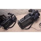 2 Filmadoras Videocamaras Panasonic S Vhs M9000 Y Vhs M3000