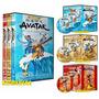 Avatar A Lenda De Aang - Coleçao Completa Em Dvd