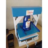 Máquina De Fazer Chinelo Manual + Furadora De Chinelo 110v