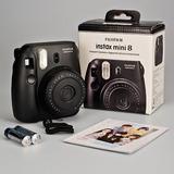 Fujifilm Instax Mini 8 Camara Instantanea Negra Nueva