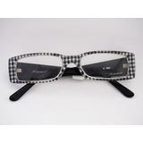 Armação De Óculos Nysell Acetato Seda Chinesa Xadrez N980