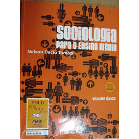 Sociologia Volume Unico Para O Ensino Medio