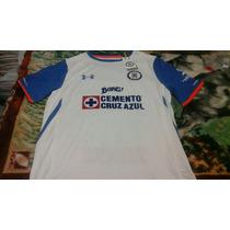 Jersey Cruz Azul Visita Temporada 15-16 Nueva Y Original