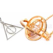 Kit Harry Potter As Relíquias Da Morte E Vira Tempo Hermione