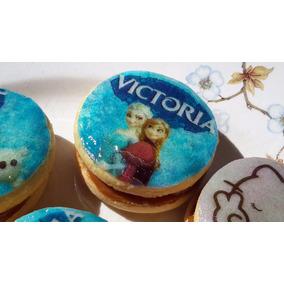 Lamina Comestible Galletita Cupcake Cookie Torta Frozen Elsa