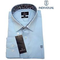 Camisa Social Individual Branca - Slim Fit (+frete)