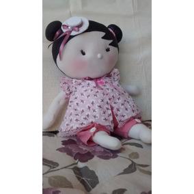 Boneca De Tecido - Modelo Leticia