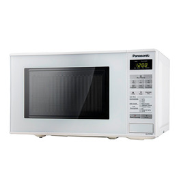 Horno De Microondas Panasonic Digital Blanco 800w 20l