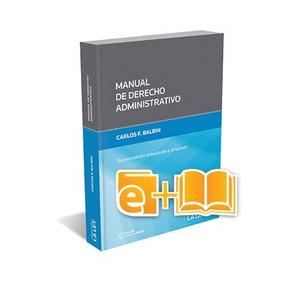 Manual De Derecho Administrativo (ebook+papel)