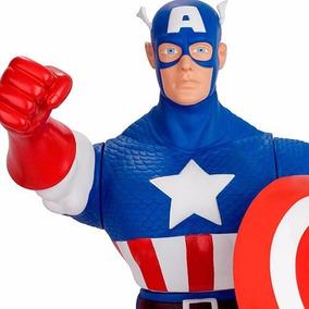Boneco Marvel Capitão América Gigante 55 Cm -mimo Original
