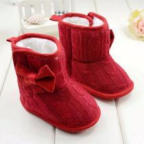 Bonitos Zapatos Bebe Recien Nacido Botita Para Frio T 6/12 M