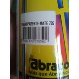 Spray Transparente Mate Abracolor Brillante