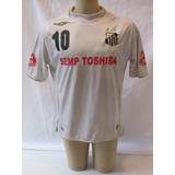 Antiga Camisa De Futebol Do Santos F.c. - 2007 #10 - Umbro