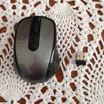 Mouse Óptico Carrefour Sem Fio Com07l Com Mini Receptor Usb