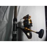 Caña De Pesca Profile Y Carrete Penn 760 Slammer
