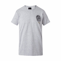 Remera Rusty Day Of The Dead Gris
