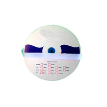 Velcro Adesivo P/ Tela Mosquiteira 20mm X 5m Branco