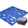 Boxlegend Ropa / Camiseta De La Carpeta De Plástico Azul Ca