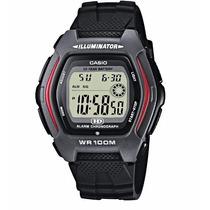 Relogio Casio Hdd 600-1a Digital Alarm Crono Dual Time Wr100