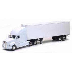 1:32 Camion Trailer Kenworth T700 Caja Seca A Escala