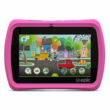 Tablet Leapfrog De Epic 7 Pulgadas 16gb Android Rosasa