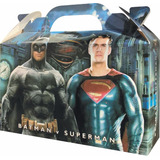 Batman Superman Bolsita Golosinera Souvenir Pack X 10 Nueva!