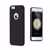 Capa Silicone Rosa Para Apple Iphone 6 6s Plus 5.5 Cores