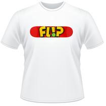 Camiseta Camisa Skate Flip Barata