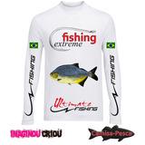 Camisa Para Grupos De Pesca Personalizada Logo Nome Frase