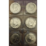 Estados Unidos Moneda De Plata 1/2 Dolar 1964 J.f.kennedy