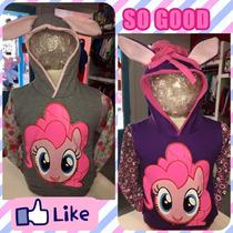 Buzos My Little Pony Con Capucha Orejitas