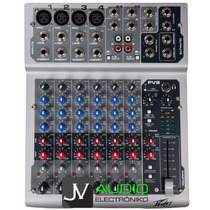 Consola Mixer Peavey Pv8 4 Entradas Mic 2 Estereo 3 Eq Gtia