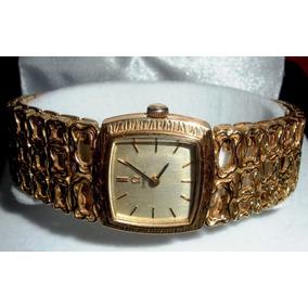 Reloj Omega Original Unisex Oro 18k Macizo Malla Martelada