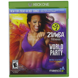 Zumba Fitness World Party Nuevo Kinect Xbox One Dakmor