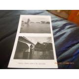 Foto Postal De Valdivia Sobre El Rio Calle Calle 1949 (53f1